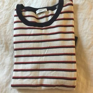 Equipment Sweaters - Equipment Femme Short Sleeve Knit Top